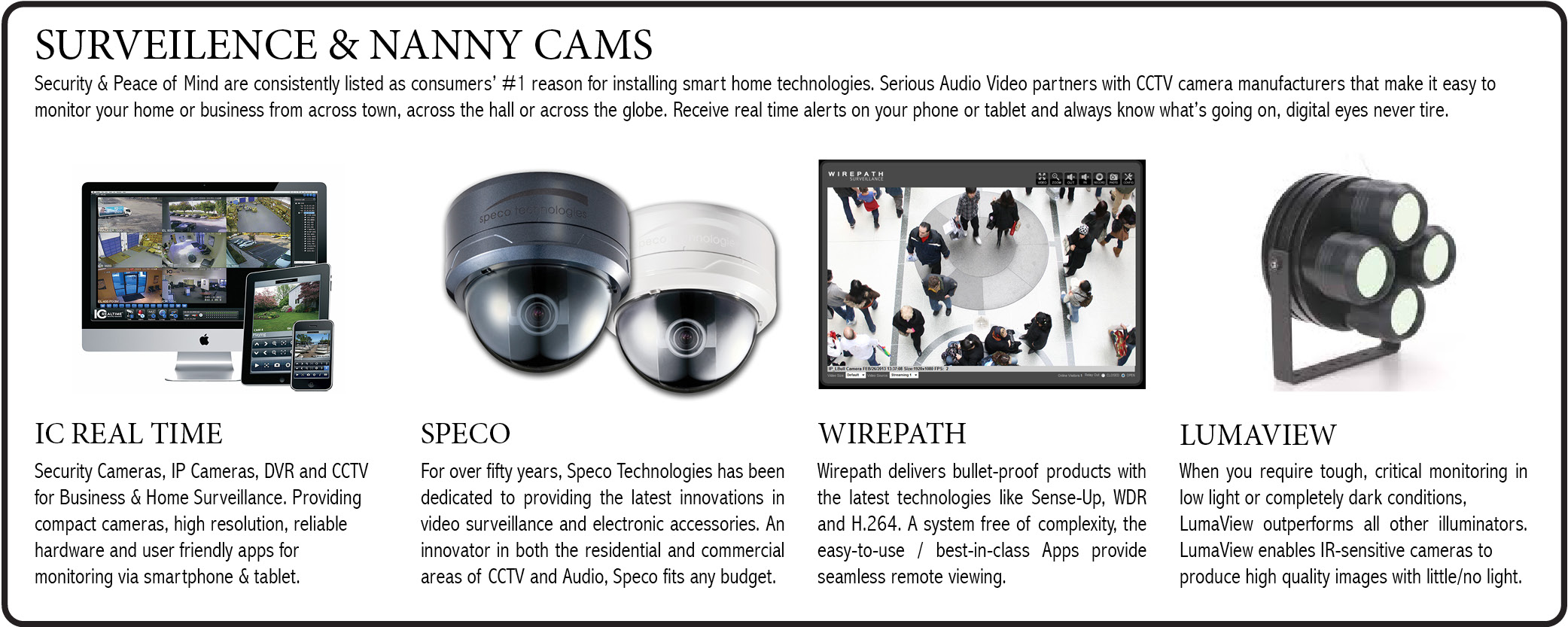 NANNY-CAM-SURVEILENCE-LUMAVIEW-SPECO-WIREPATH-IC-REALTIME-NJ-SERIOUS-AUDIO-VIDEO