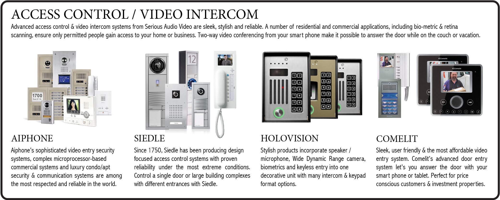 aiphone-siedle-holovision-comelit-access-control-nj-serious-audio-video