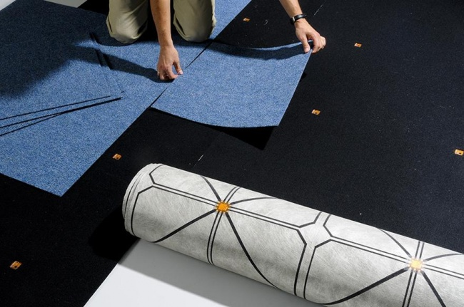SensFloor: Smart Carpeting