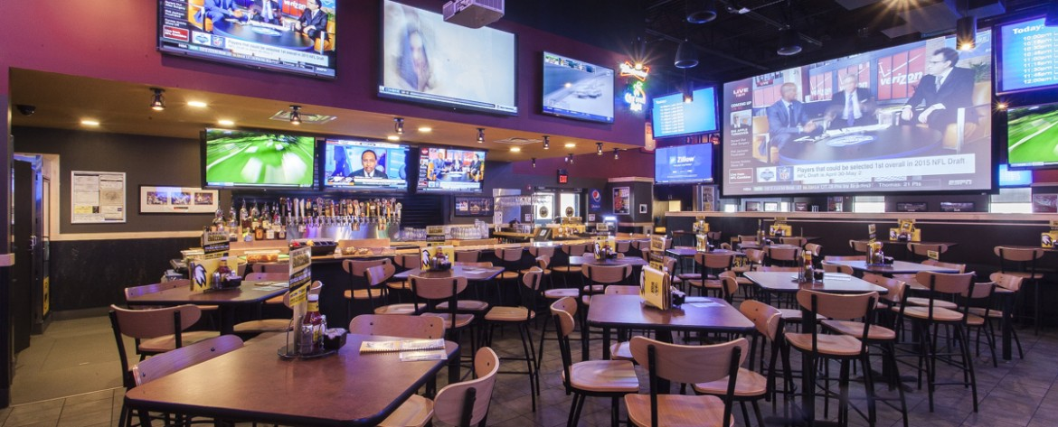 Image result for buffalo wild wings tvs