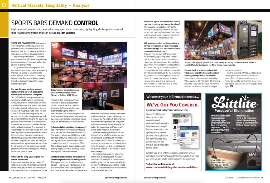 Commercial-Integrator-Sports-Bar-Design-Serious-Audio-Video-Buffalo-Wild-Wings-Casey-S-Johnston