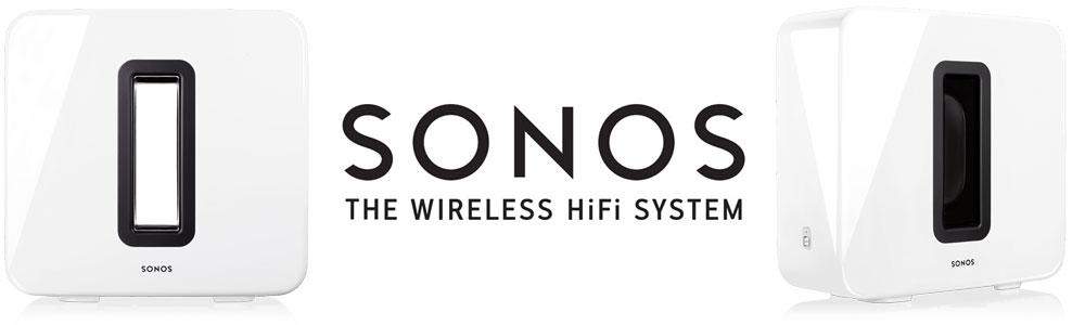 Sonos : White SUB